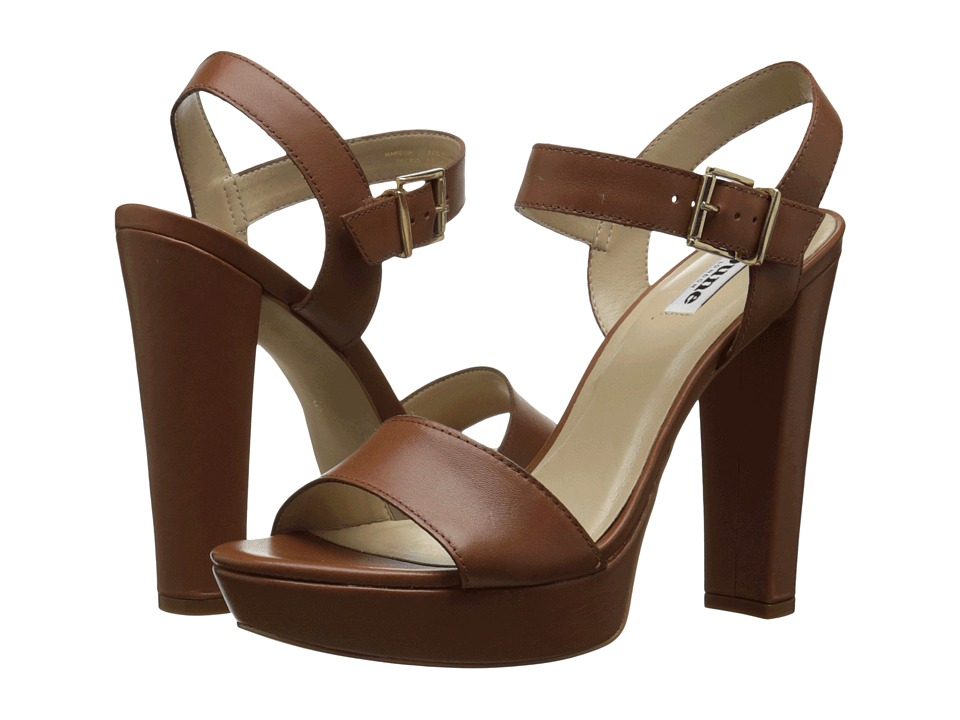Dune London - Mariella (Tan Leather) High Heels