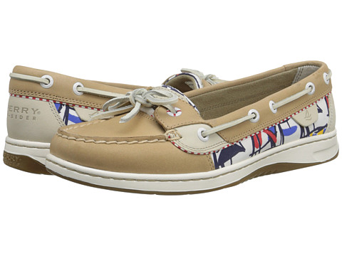 Sperry Top-Sider - Angelfish 2-Eye (Linen (Signal Flags)) Women