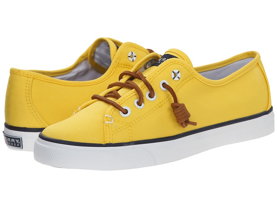 Sperry Top-Sider - Seacoast (Yellow Canvas) Women's Lace up casual Shoes