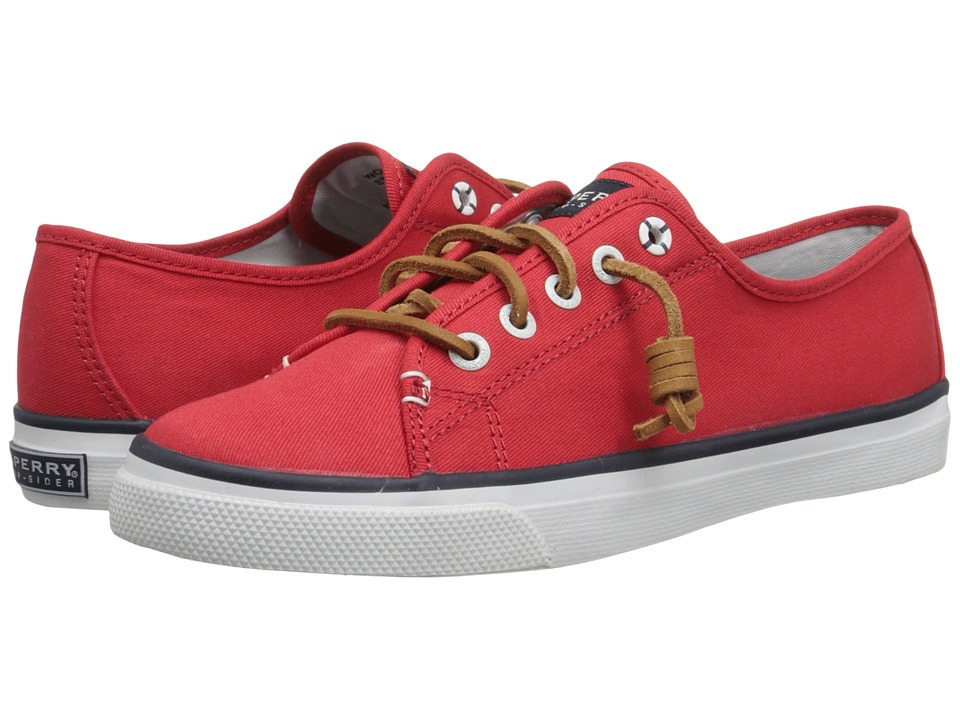 Sperry Top-Sider - Seacoast (Red Canvas) Women's Lace up casual Shoes