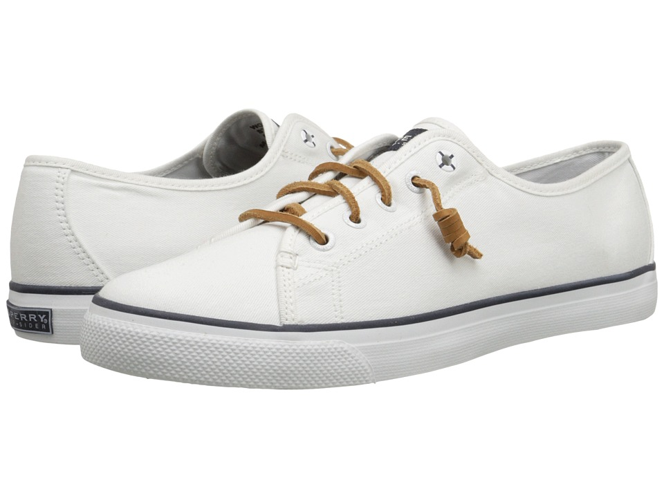 Sperry - Seacoast (White Canvas) Women's Lace up casual Shoes