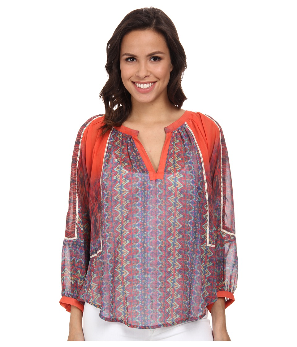 KAS New York - Maryna Blouse (Multi) Women's Blouse