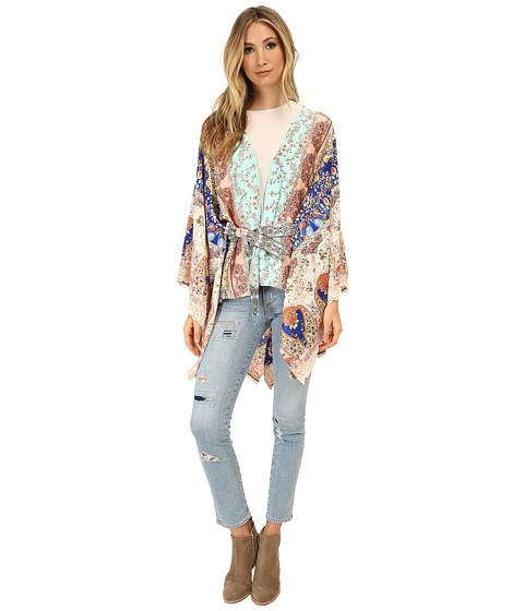 KAS New York - Kaja Kimono (Multi) Women's Clothing