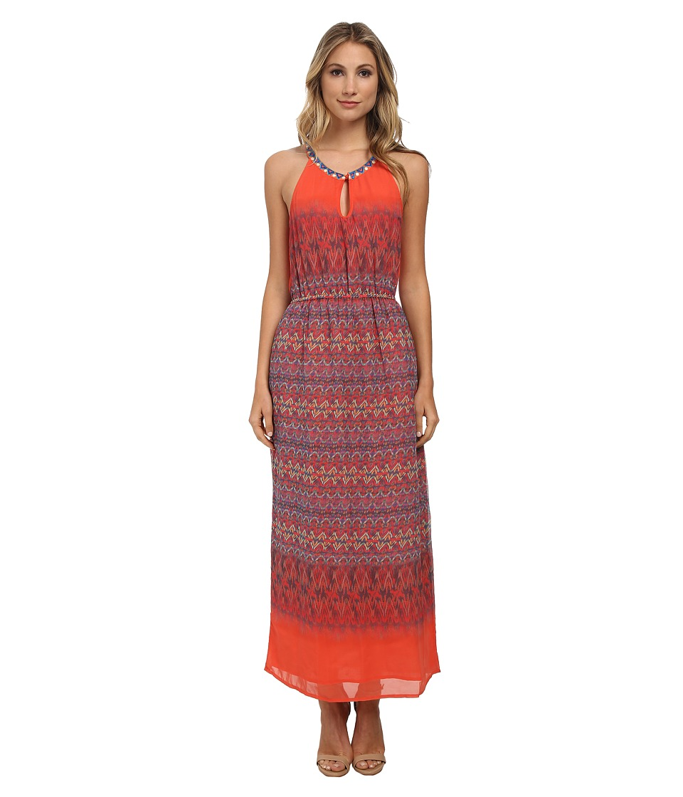 KAS New York - Shataya Maxi Dress (Multi) Women's Dress