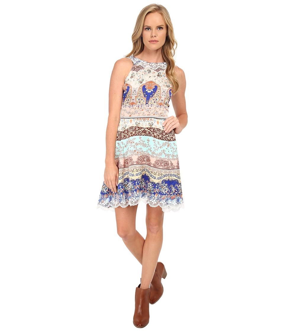 KAS New York Gracja Lace Dress (Multi) Women