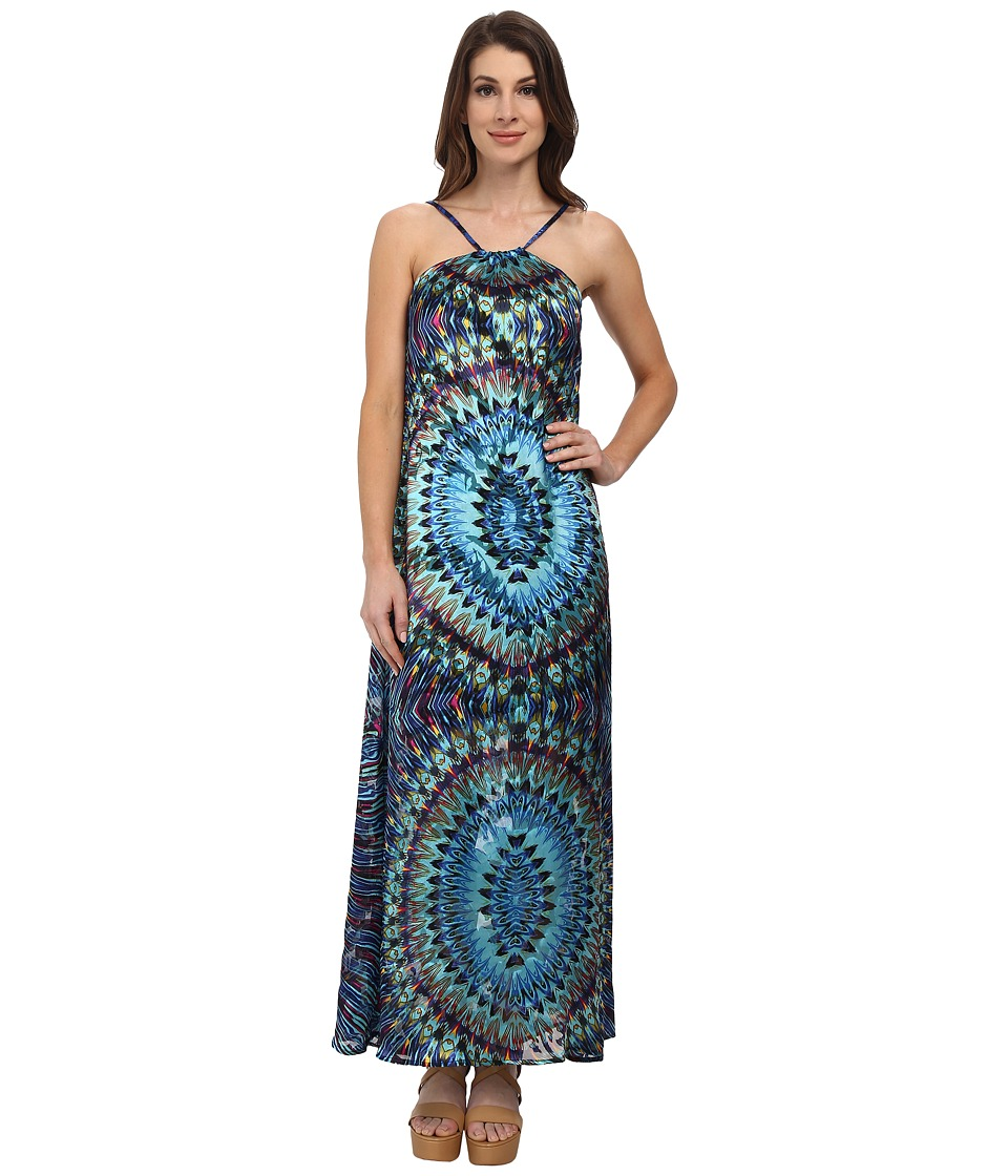 KAS New York - Nela Maxi Dress (Multi) Women's Dress