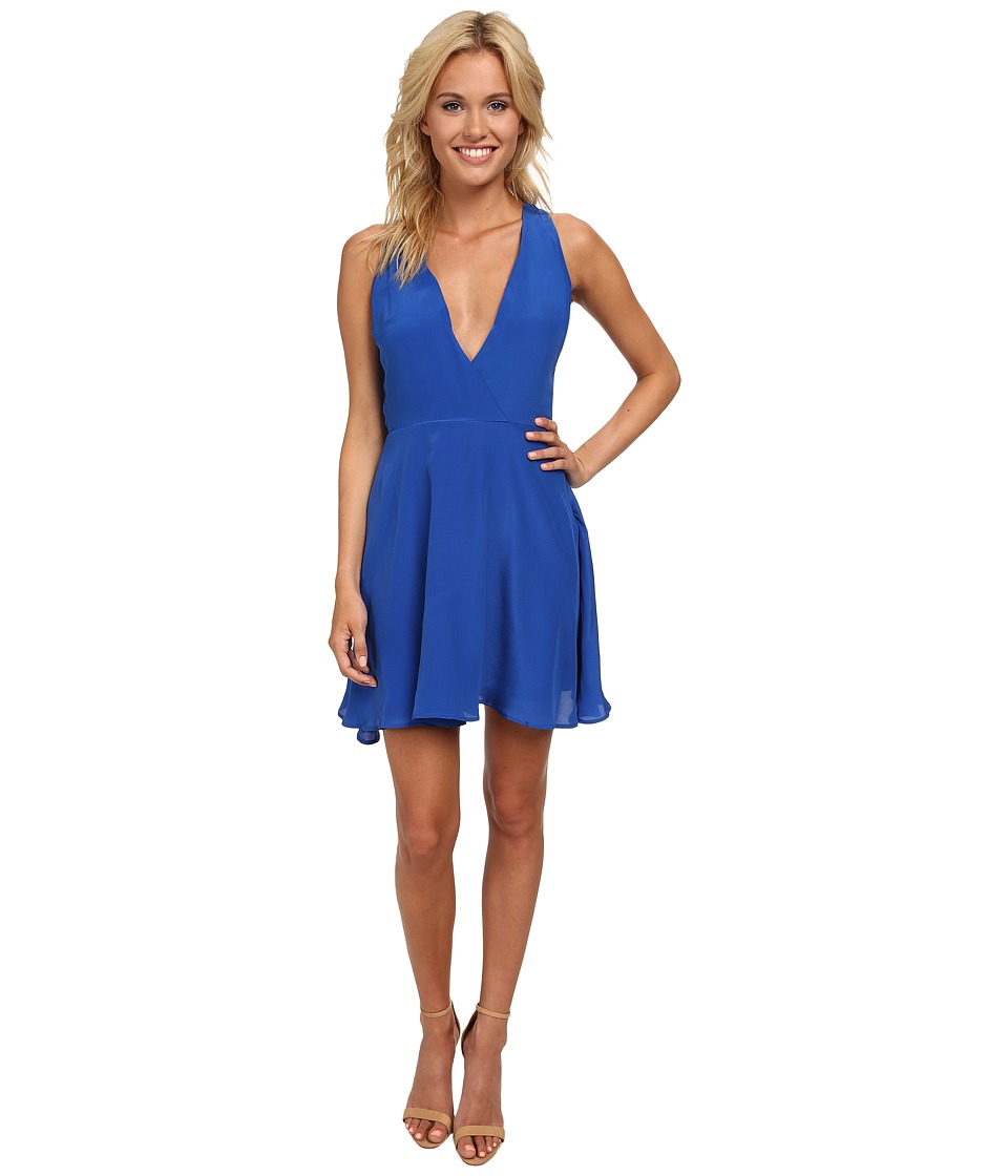 KAS New York - Janina Silk Dress (Electric Blue) Women