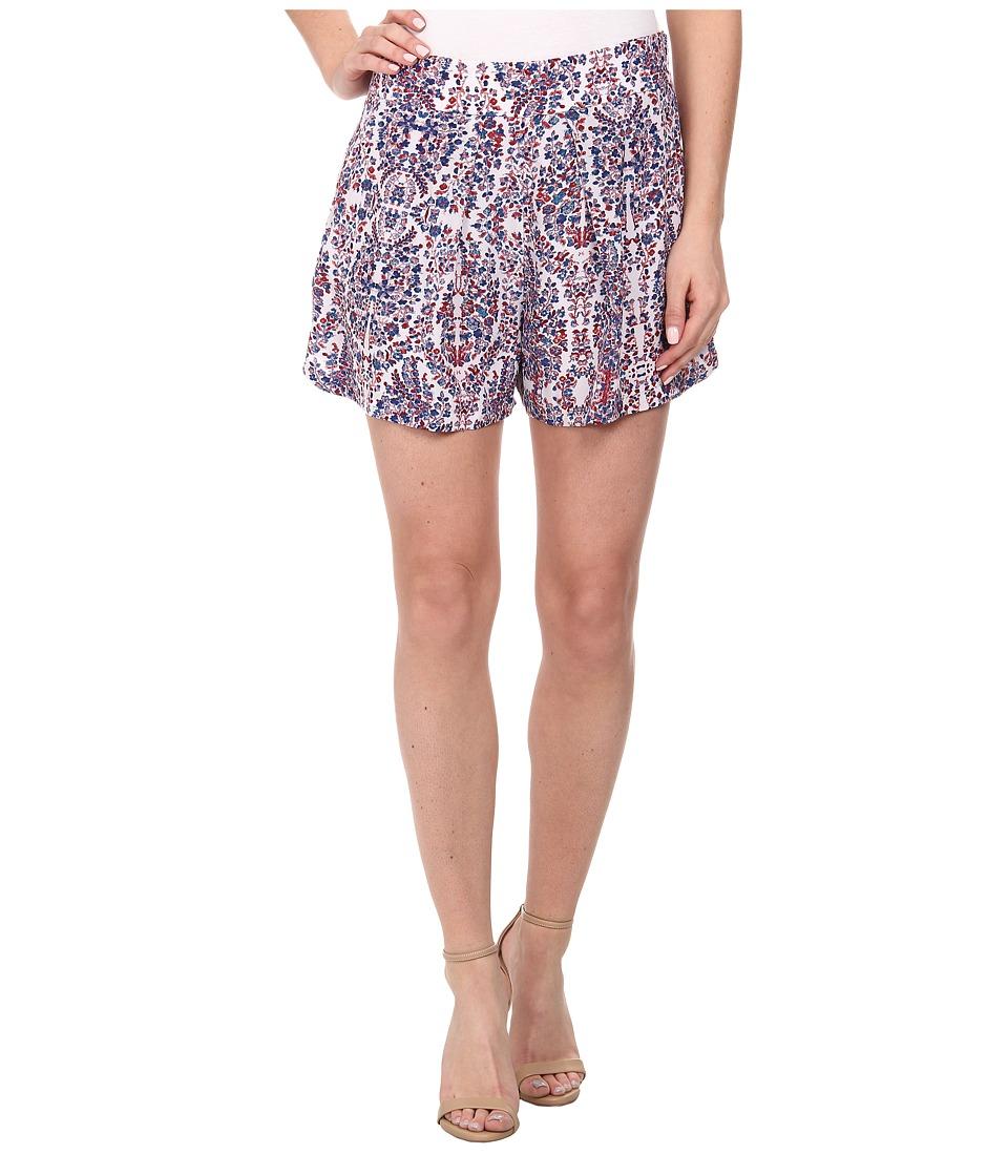 Rebecca Taylor - Paisley Print Short (Admiral) Women's Shorts