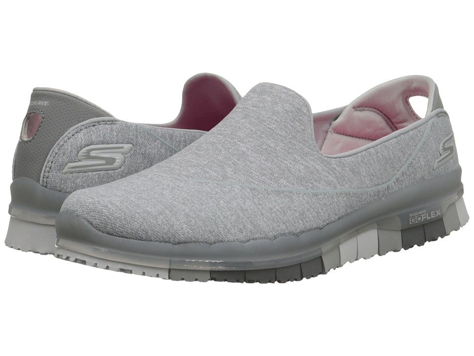 SKECHERS Performance - Go Flex (Gray) Women's Shoes