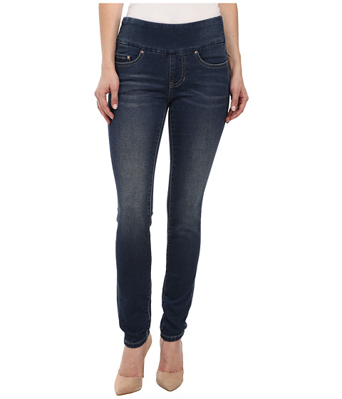 Jag Jeans Petite - Petite Nora Skinny Knit Denim in Forever Blue (Forever Blue) Women's Jeans