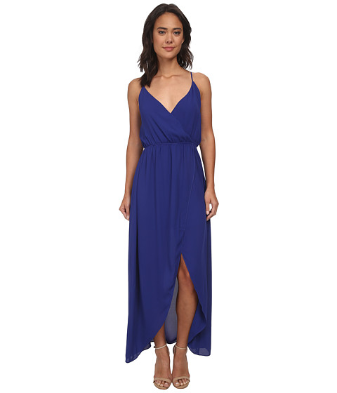 Brigitte Bailey - Twist Top Tulip Maxi Dress (Cobalt) Women's Dress