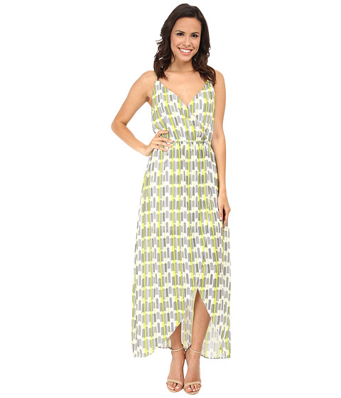 Brigitte Bailey - Twist Top Tulip Maxi Dress (Archery) Women