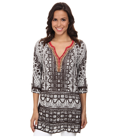 NIC+ZOE - Cutting Edge Tunic (Multi) Women
