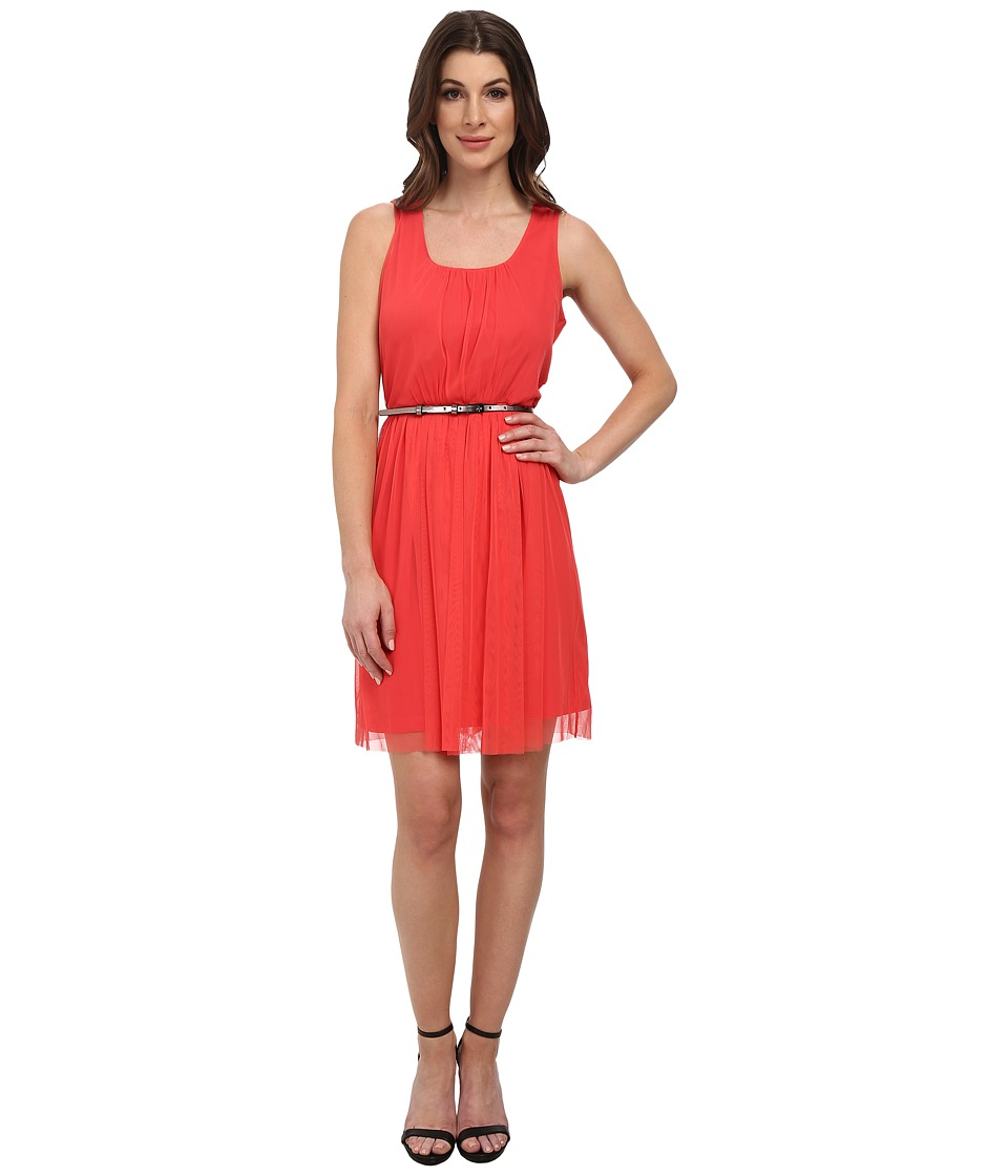 NIC+ZOE Mesh Ways Dress (Dragonfruit) Women