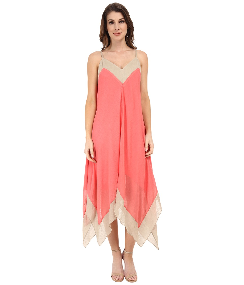 NIC+ZOE Drifty Dress (Bright Papaya) Women