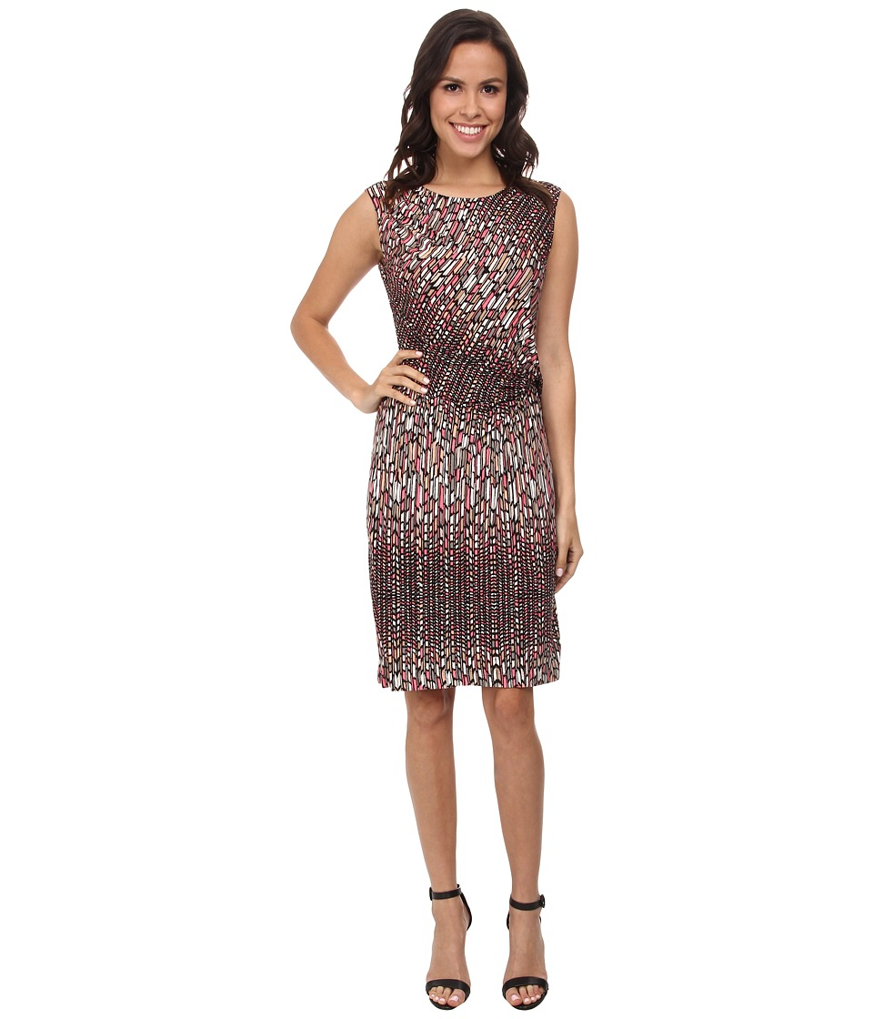 NIC+ZOE Paint Mark Dress (Multi) Women
