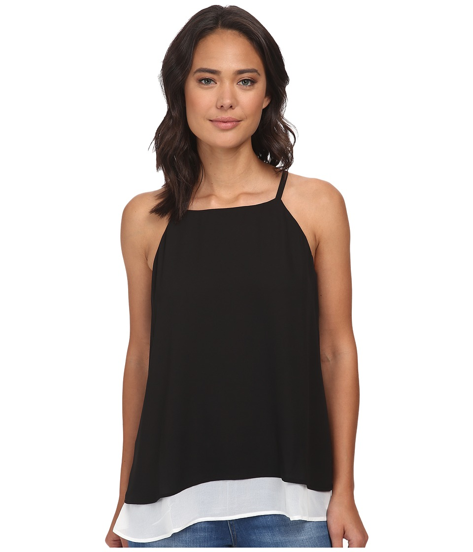 Gabriella Rocha - Double Layer Camisole (Black/White) Women