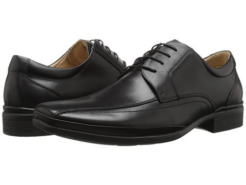 Steve Madden - Brunswik (Black) Men's Lace-up Bicycle Toe Shoes