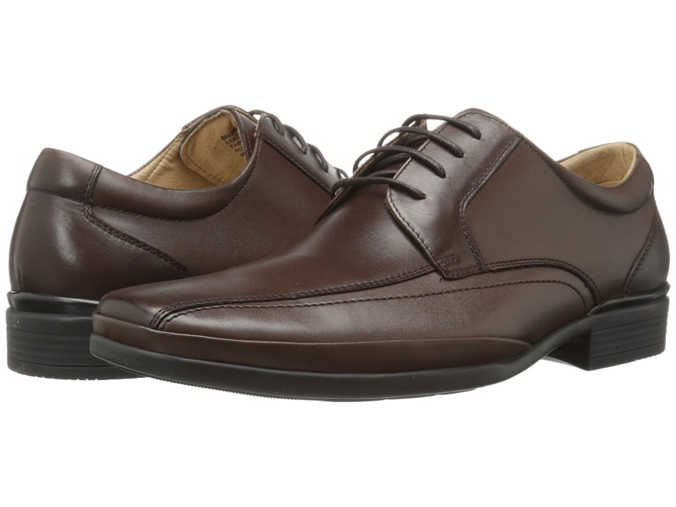 Steve Madden - Brunswik (Brown) Men's Lace-up Bicycle Toe Shoes