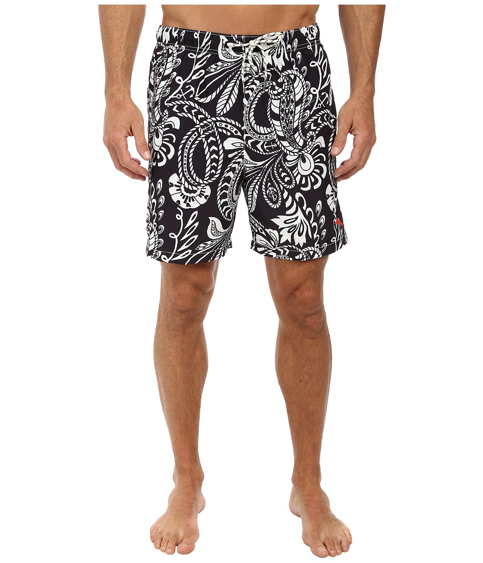 Tommy Bahama - Naples Knots 6 Swim Trunks (Black) Men