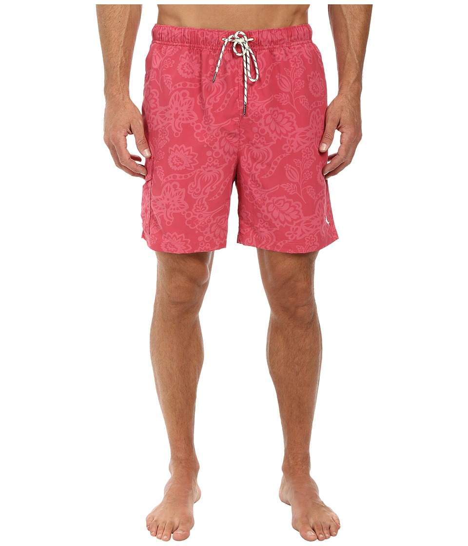 Tommy Bahama - Naples Tropics 6 Volley Swim Trunks (Wild Ginger) Men's Swimwear