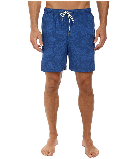 Tommy Bahama - Naples Tropics 6 Volley Swim Trunks (Cadet) Men's Swimwear