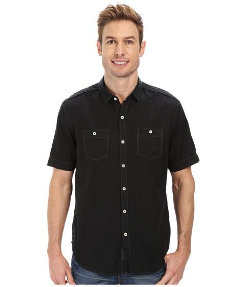 Tommy Bahama Denim - Island Modern Fit New Twilly Junior Shirt (Matte Black) Men