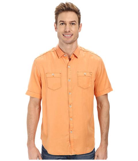 Tommy Bahama Denim - Island Modern Fit New Twilly Junior Shirt (Fireball) Men's Clothing