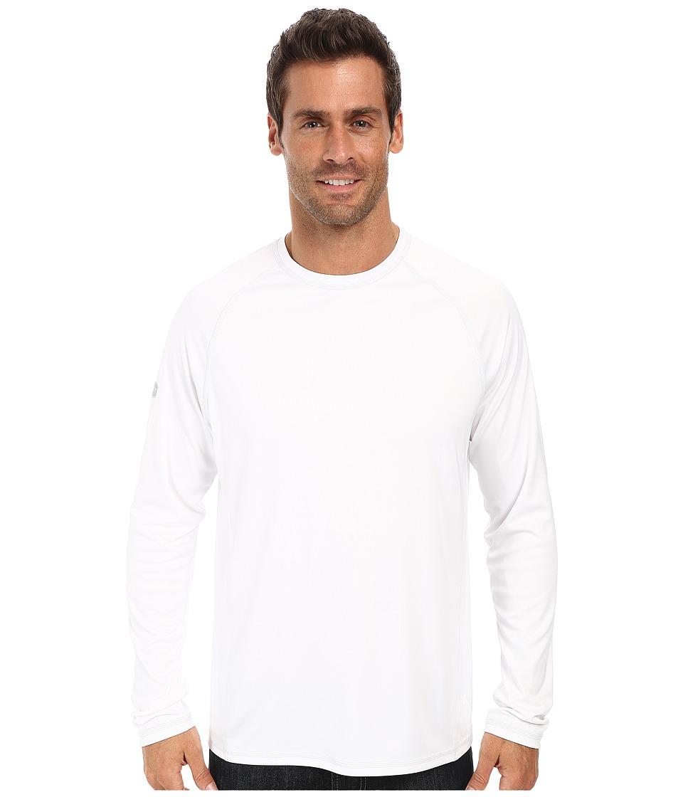 Tommy Bahama Sun Chaser L/S Rashguard (White) Men