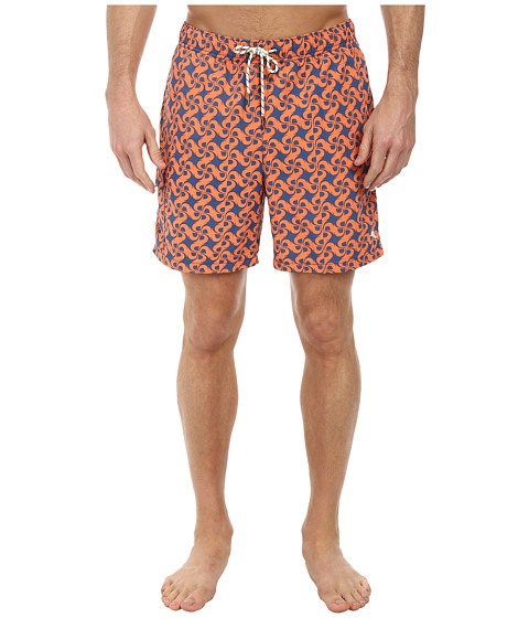 Tommy Bahama - Naples Tidal Tile 6 Swim Trunks (Cadet) Men