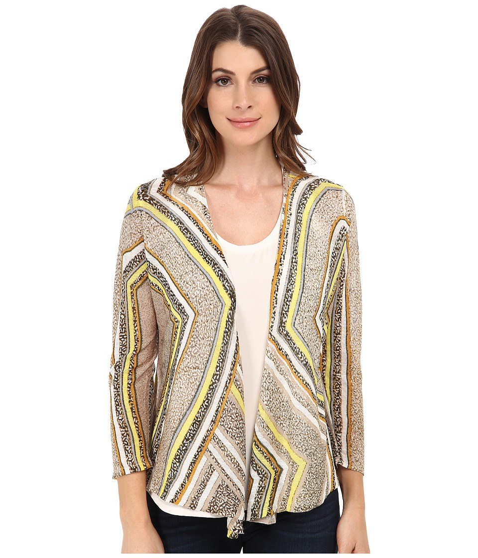 NIC+ZOE - Beaming 4-Way Cardy (Multi) Women