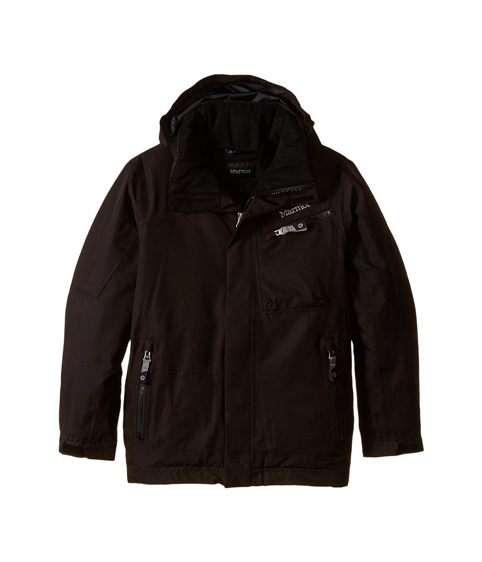 Marmot Kids - Boy's Freerider Jacket (Little Kids/Big Kids) (True Black) Boy's Coat