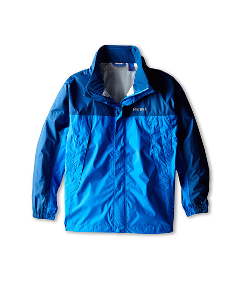 Marmot Kids - PreCip Jacket (Little Kids/Big Kids) (Cobalt Blue/Blue Night) Boy