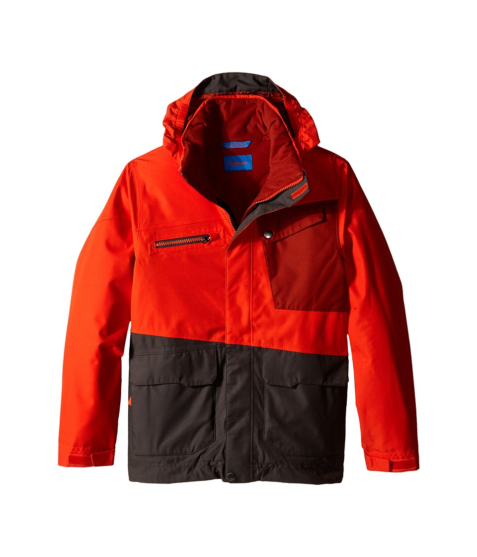 Marmot Kids - Boy's Space Walk Jacket (Little Kids/Big Kids) (Sunset Orange/Slate Grey) Boy's Jacket