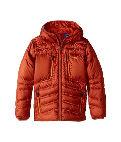 Marmot Kids - Boy's Hangtime (Down) Hoody (Little Kids/Big Kids) (Dark Rust) Boy's Coat