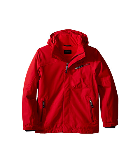 Marmot Kids - Boy's Freerider Jacket (Little Kids/Big Kids) (True Team Red) Boy's Coat