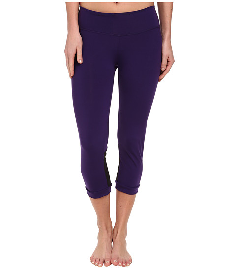 COZY ORANGE - Aquarius Crops (Majestic Purple/Raven Black) Women