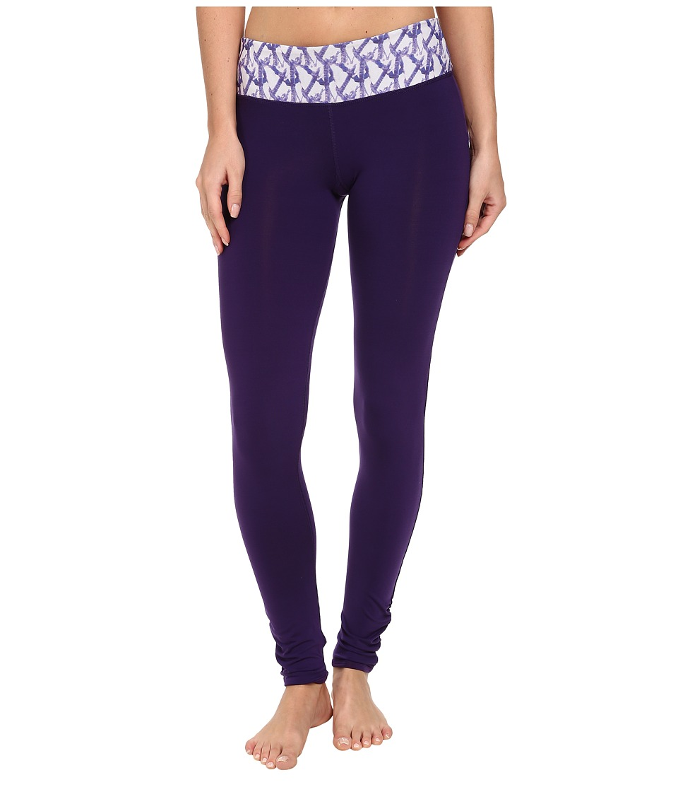 COZY ORANGE - Dharma Leggings (Majestic Purple/Glacier) Women