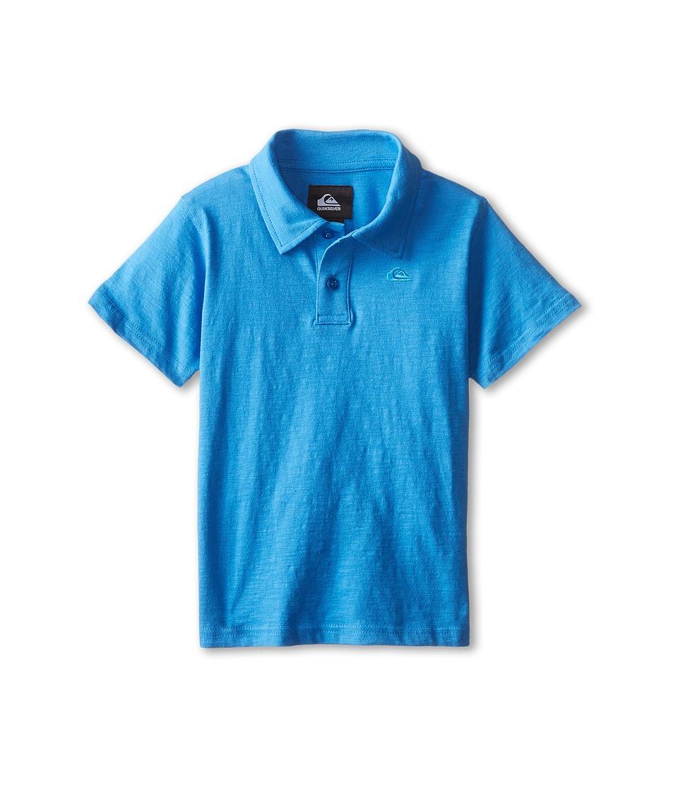 Quiksilver Kids - Core Polo (Toddler) (Snorkel) Boy's Short Sleeve Knit