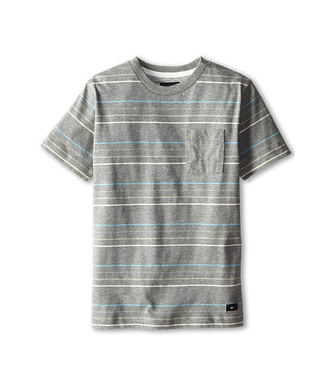Quiksilver Kids - Church Island Tee (Big Kids) (Black) Boy