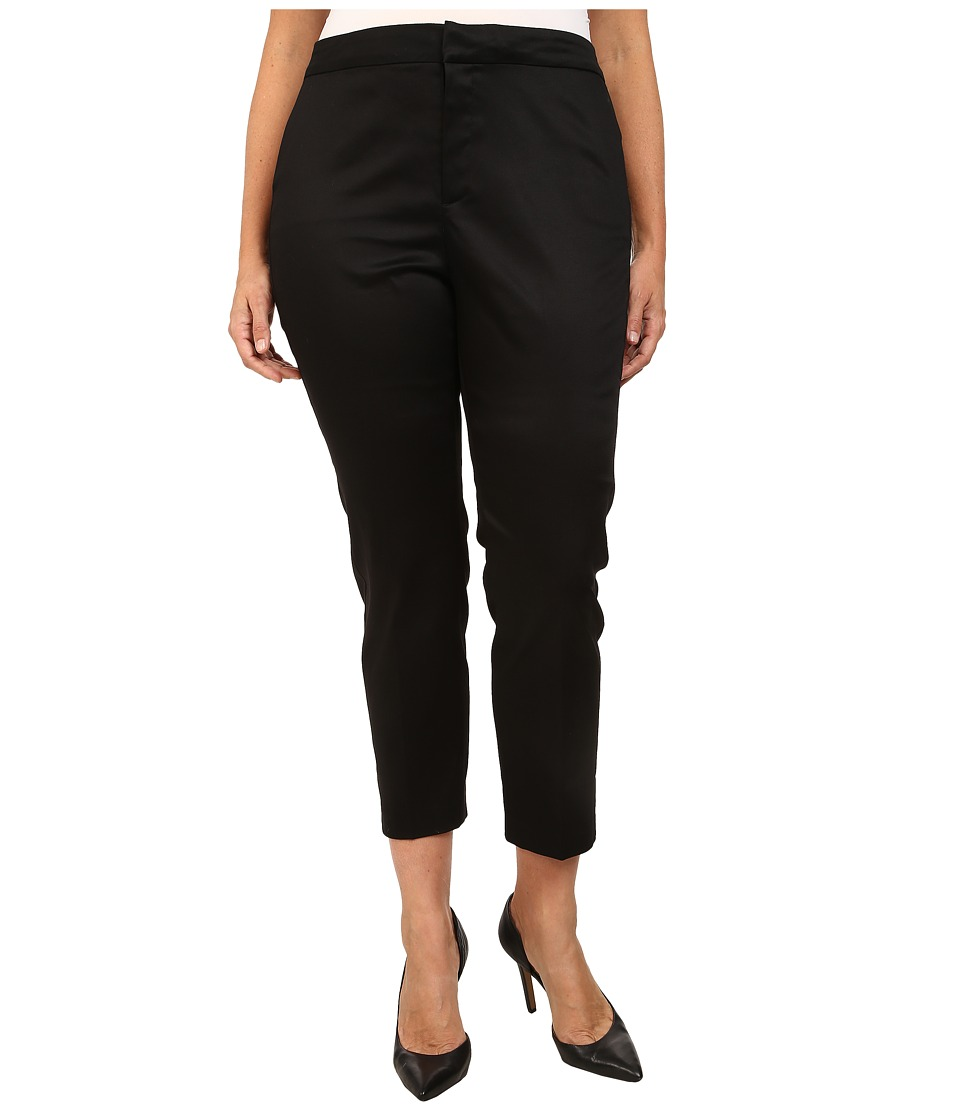 NYDJ Plus Size - Plus Size Corynna Skinny Ankle (Black) Women's Casual Pants