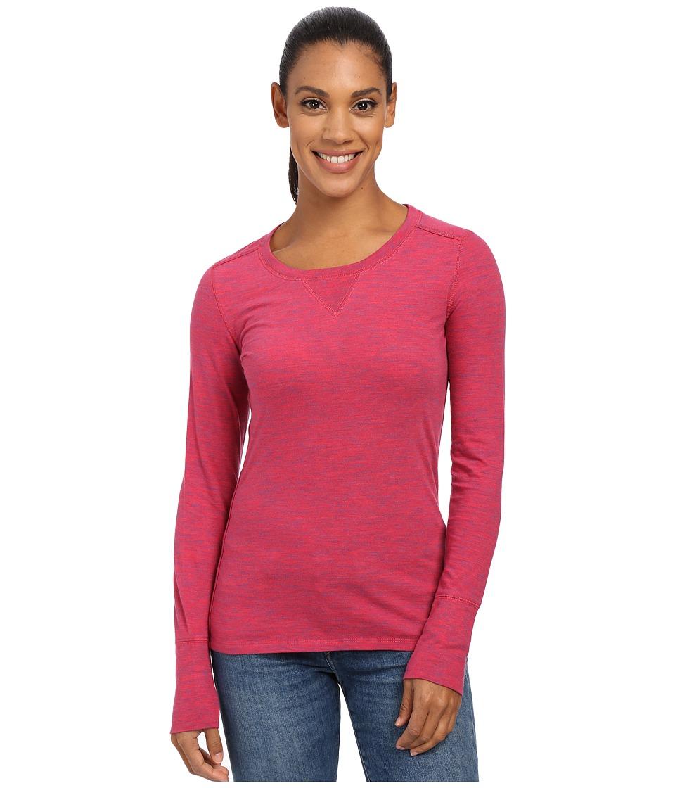 Marmot - Alyssa Long Sleeve (Dark Raspberry) Women's Long Sleeve Pullover