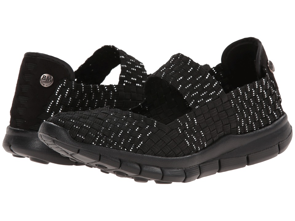 bernie mev. - Charm (Black/Silver) Women's Sandals