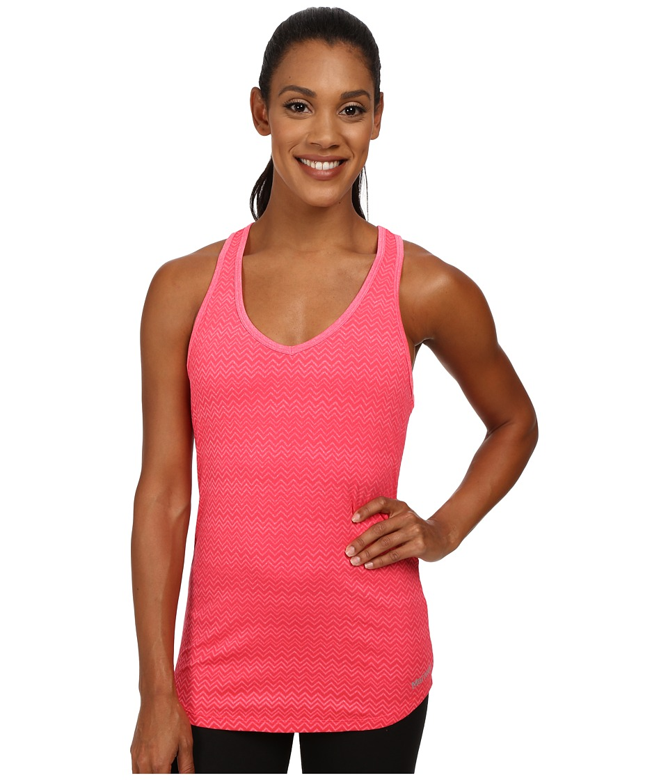 Marmot - Layer Up Tank Top (Bright Pink Heather) Women's Sleeveless