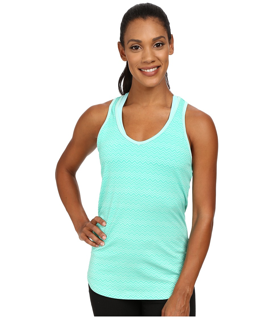 Marmot - Layer Up Tank Top (Ice Green Heather) Women's Sleeveless