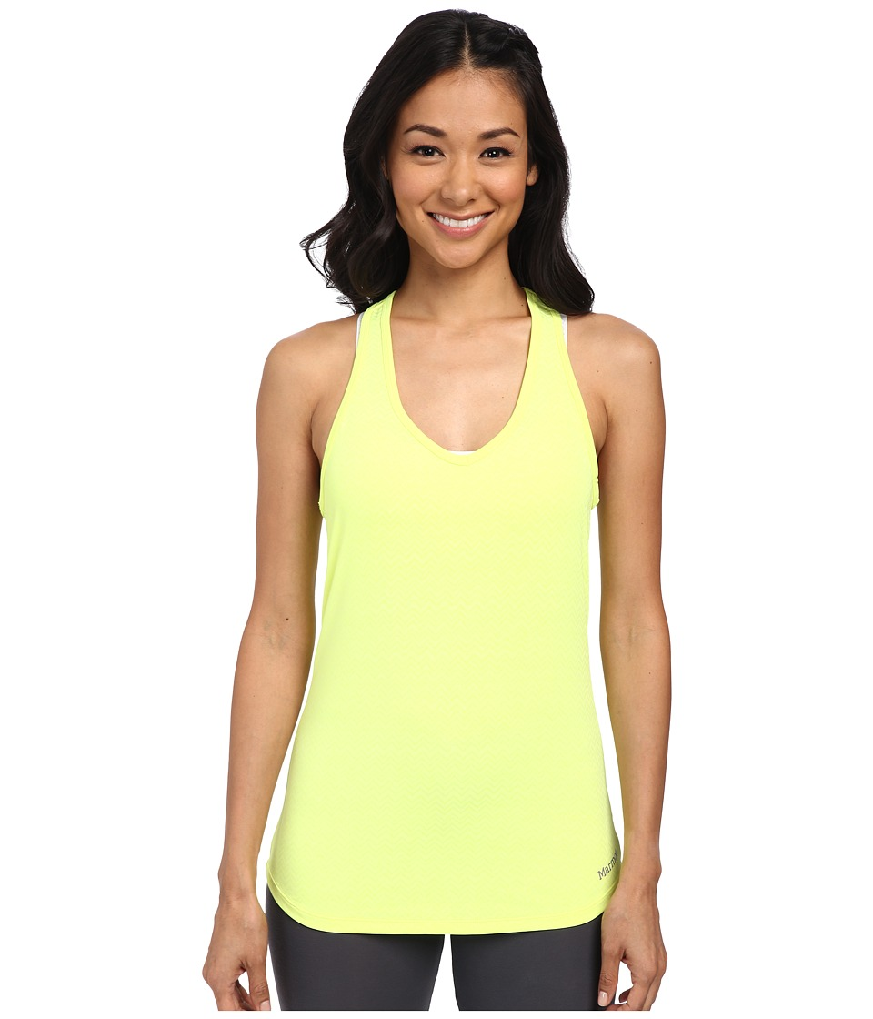 Marmot - Layer Up Tank Top (Hyper Yellow Heather) Women's Sleeveless
