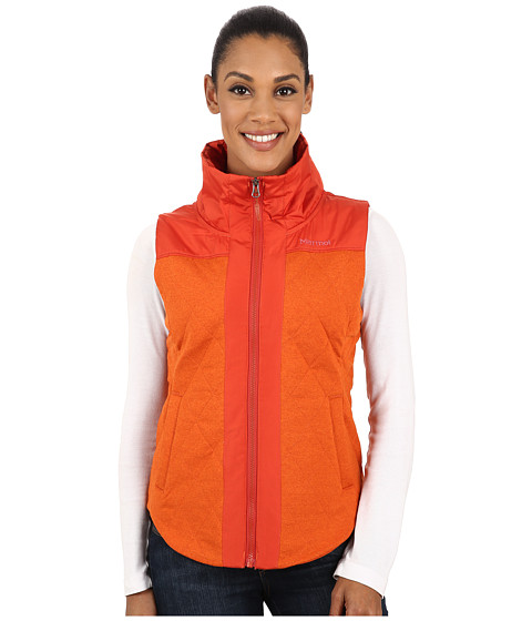Marmot - Abigal Vest (Bright Rust Heather) Women's Vest