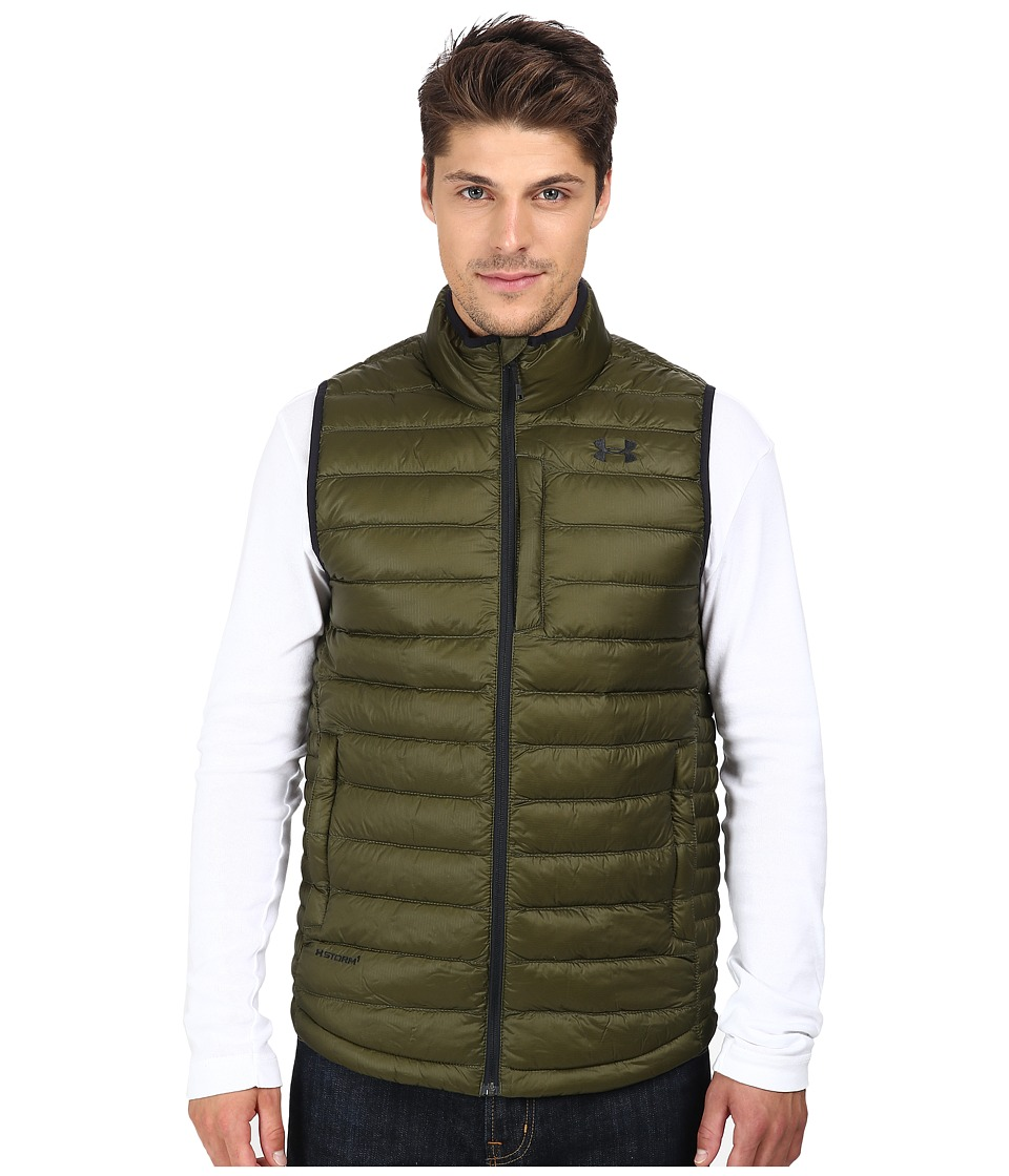 Under Armour - UA Coldgear Infrared Turing Vest (Greenhead) Men's Vest