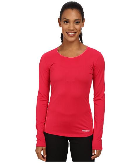 Marmot - Essential Long Sleeve (Raspberry/Bright Pink) Women's Long Sleeve Pullover