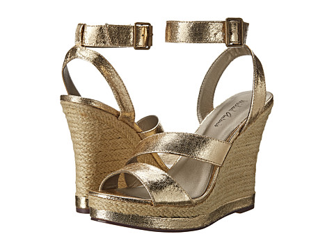 Michael Antonio - Gate (Gold) Women's Wedge Shoes